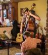 High Strung staffer Peter and High Strung School of Music teacher Ken performing.